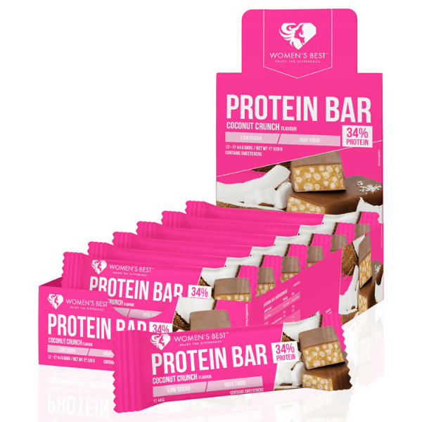 Women's Best - Protein Bar Coconut Crunch (12x44)
