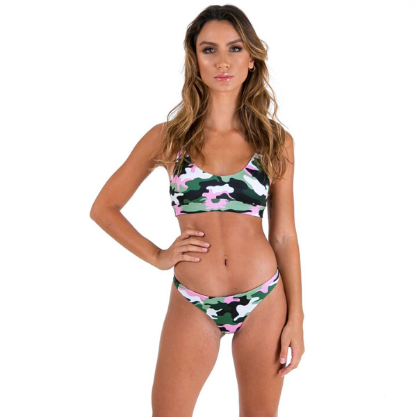 Xahara - Elle Swim Bottom (Pink Army)
