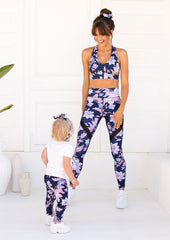 Xahara - Junior Oriental Leggings (Navy)