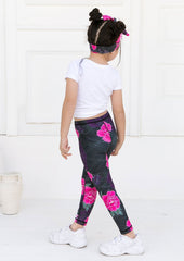 Xahara - Junior Origami Leggings (Black)