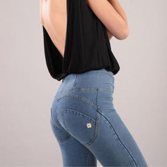 WR.UP® High Waist Light Denim (J4Y)