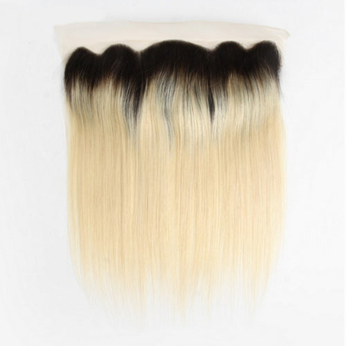 SpellBound Hair® Ombre Blond Straight Free Part Frontal (13