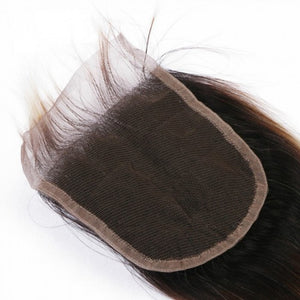 "SpellBound Hair® Ombre Blond Free Part Body Wavy Closure (4"" x 4"") - SpellBound Hair"