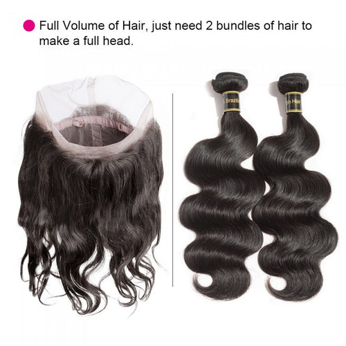SpellBound Hair® 360 Body Wave Lace Frontal (22