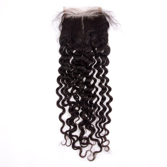 SpellBound Hair® Italy Curl Free Parted Lace Closure (4