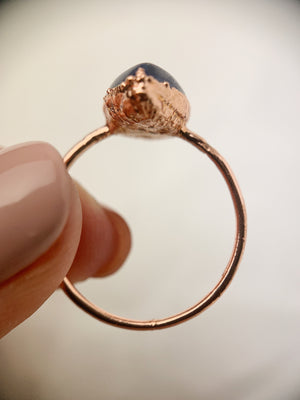 Pear Kyanite Ring
