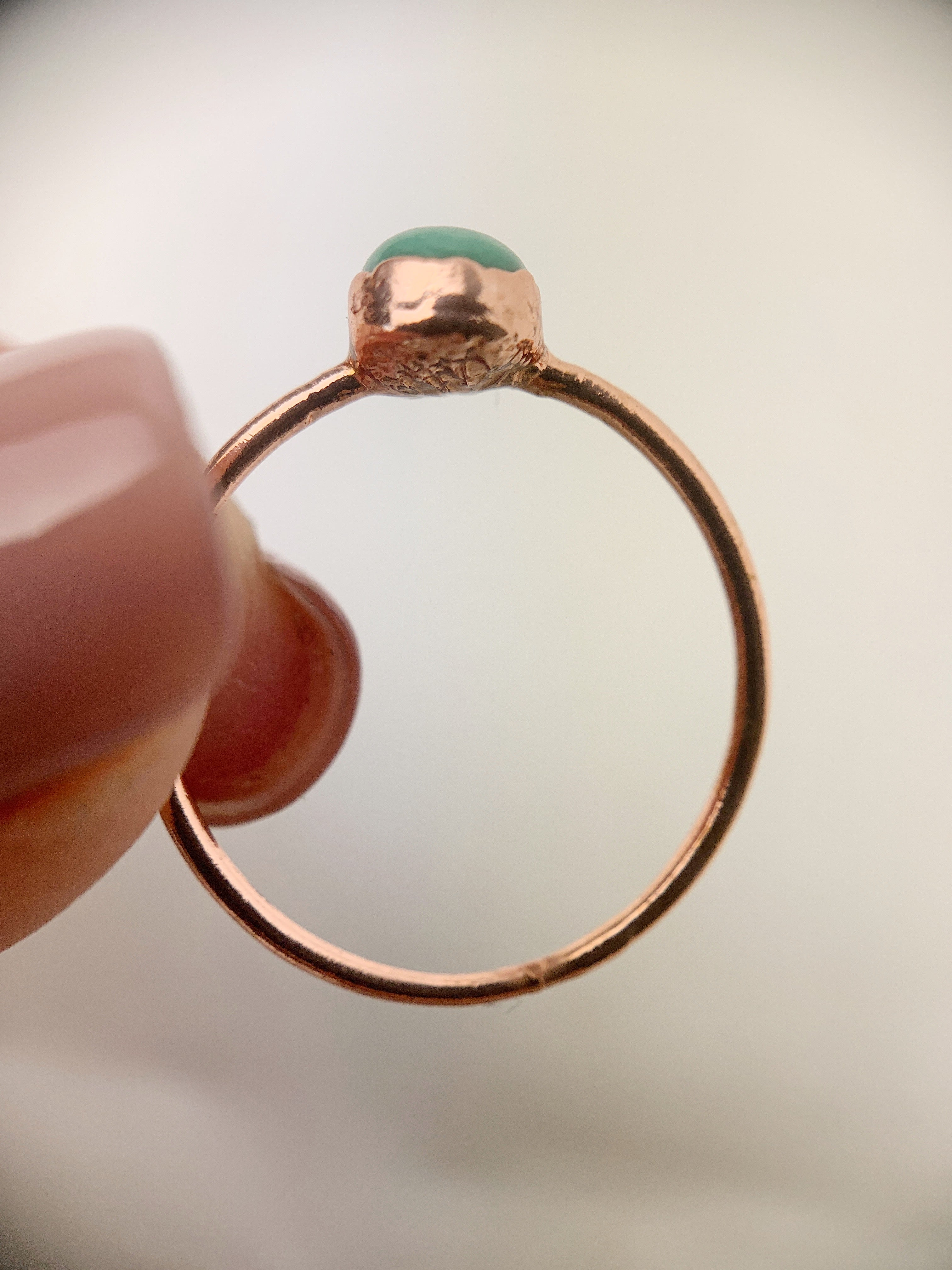Turquoise Ring - size M 1/2