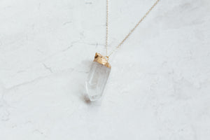 Medium Quartz Necklace