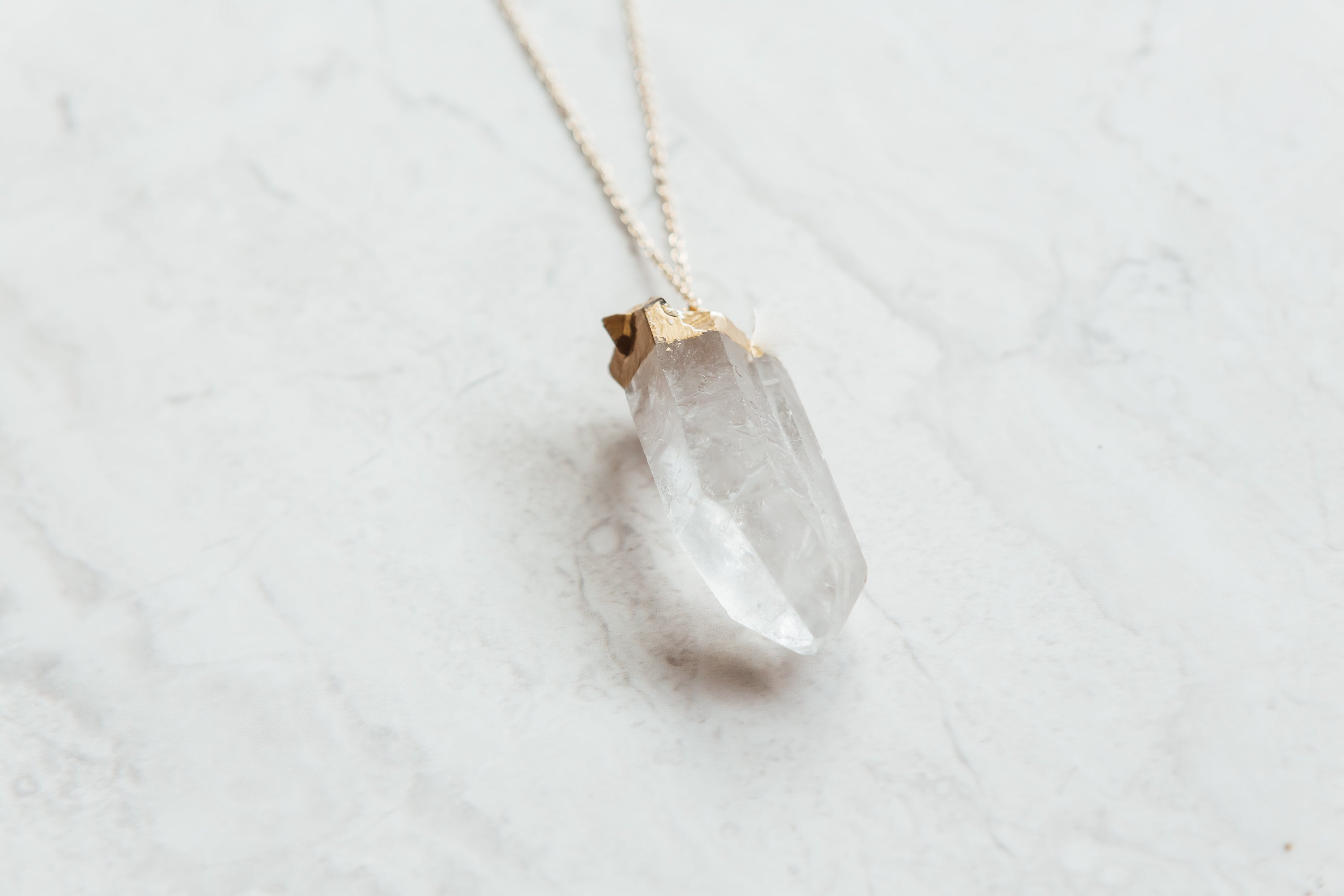 Small Quartz Necklace
