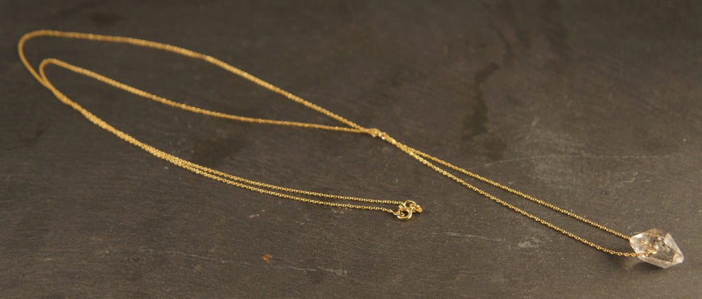 The Downes Herkimer Diamond Necklace