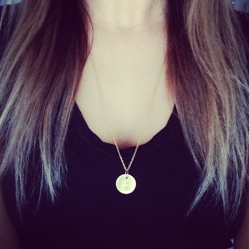 Coin Necklace - Long