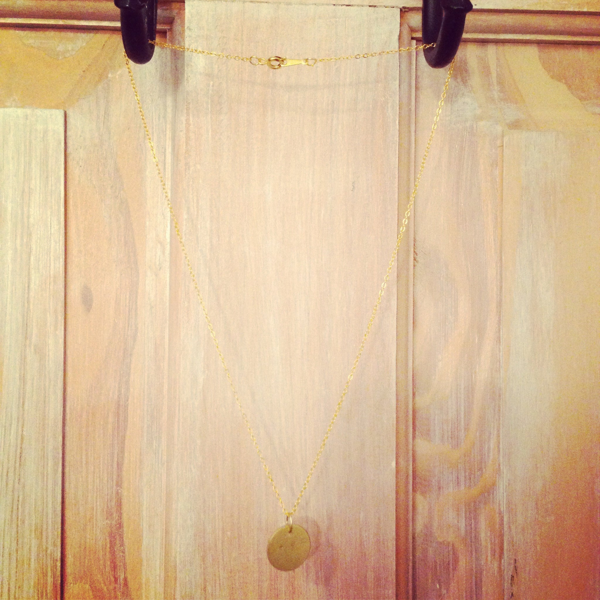 Coin Necklace - Short