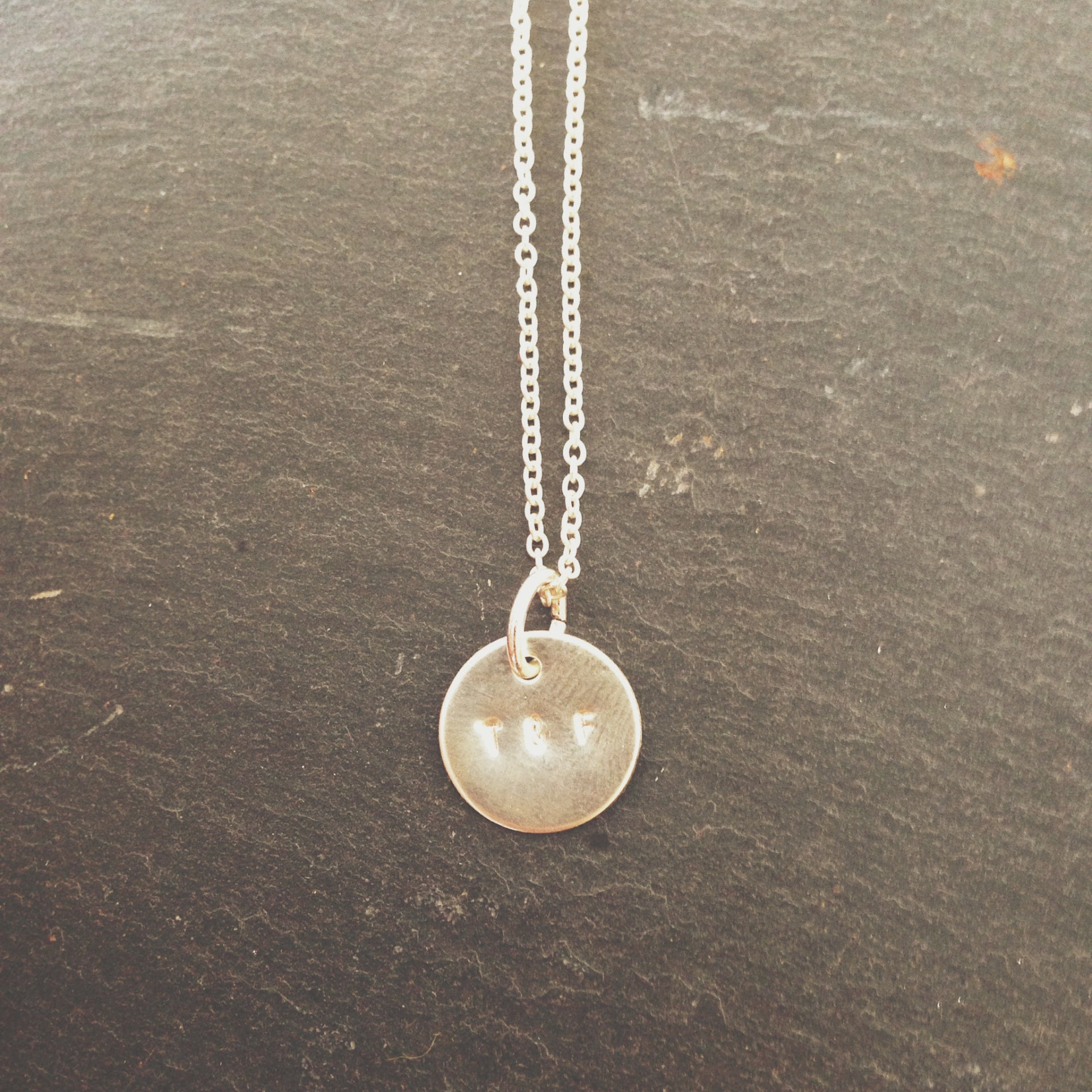 The Amelie Silver Coin Necklace