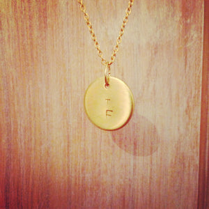 Coin Necklace - Double