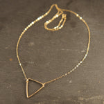 The Hood Triangle Necklace