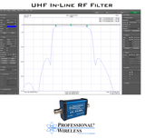 UHF In-Line RF Filter (470-616 MHz)