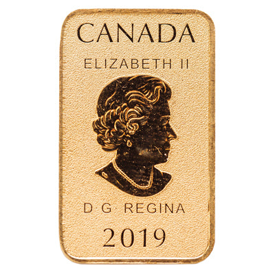 1/10oz Gold - Legal Tender Bar (10x.10)