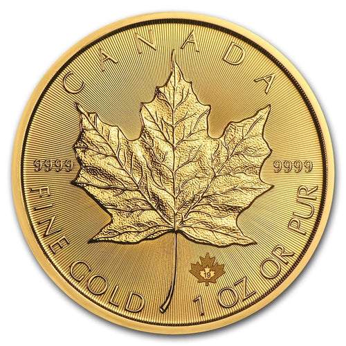 Canadian Gold Maple Leaf 1 oz