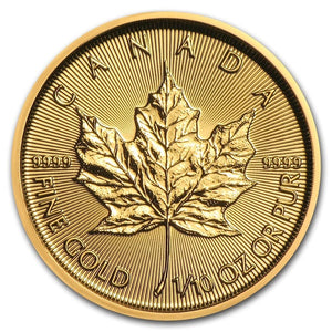 Canadian Gold Maple Leaf 1/10 oz