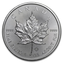 Load image into Gallery viewer, Canadian Silver Maple Leaf 1 oz