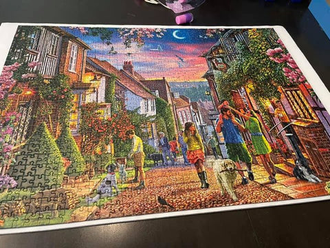 Gibsons Completed Puzzle