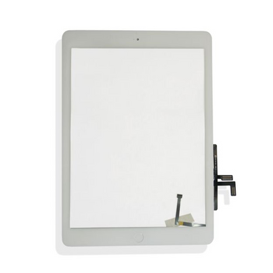iPad Air/iPad 5 (Quality Aftermarket) Digitizer Screen Replacement with Home Button - White