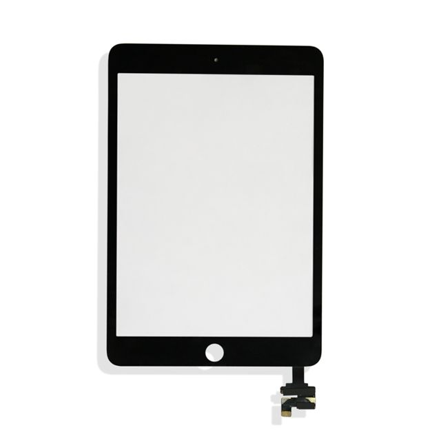 iPad Mini 3 (Quality Aftermarket) Digitizer Assembly without Home Button - Black