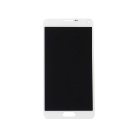 Samsung Note 4 without Frame Replacement Part - White (NO LOGO)