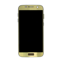 Samsung S7 without Frame Replacement Part - Gold (NO LOGO)