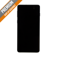 Samsung S10 with Frame Replacement Part - Black (No Logo)