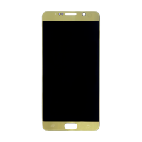 Samsung Note 5 without Frame Replacement Part - Gold (NO LOGO)