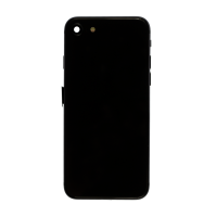 iPhone 8 Back Housing with Small Parts - Black (NO LOGO)