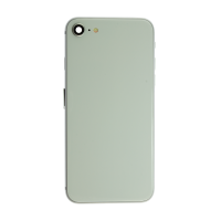 iPhone 8 Back Housing with Small Parts - White (NO LOGO)