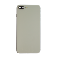iPhone 8 Plus Back Housing with Small Parts - White (NO LOGO)