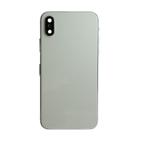 iPhone X Back Housing with Small Parts - White (NO LOGO)