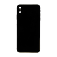 iPhone XS Max Back Cover Replacement Part - Black (NO LOGO)