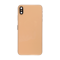 iPhone XS Max Back Housing with Small Part Replacement Part - Gold (NO LOGO)
