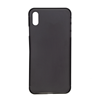 iPhone XS Max (Big Hole) Back Cover - Black (NO LOGO)