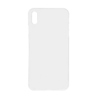 iPhone XS Max (Big Hole) Back Cover - White (NO LOGO)