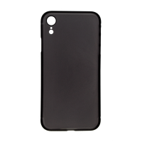 iPhone XS (Big Hole) Back Cover - Black (NO LOGO)