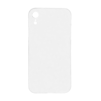 iPhone XR (Big Hole) Back Cover - White (NO LOGO)