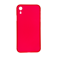 iPhone XR (Big Hole) Back Cover - Red (NO LOGO)