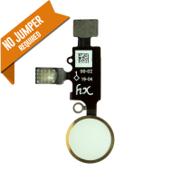 YF Home Button Flex Cable (3rd Gen) w/ return function - Rose Gold (for iPhone 7 / 7+ / 8 / 8+)