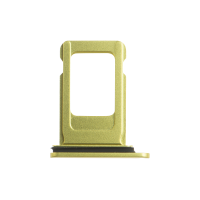 iPhone 11 Sim Card Tray - Yellow