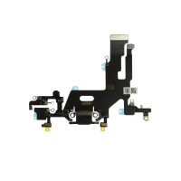 iPhone 11 Charging Port with Flex Cable Replacement Part - Black