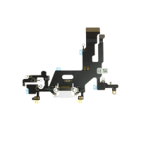 iPhone 11 Charging Port with Flex Cable Replacement Part - White