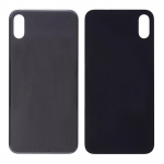 iPhone XS Back Cover Replacement Part - Black (NO LOGO)