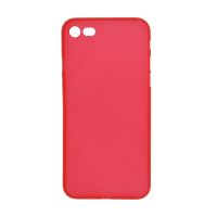 iPhone 8 (Big Hole) Back Cover - Red (NO LOGO)