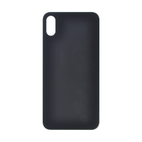 iPhone X (Big Hole) Back Cover - Black (NO LOGO)