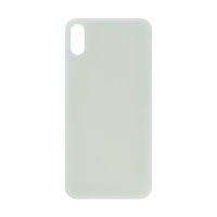 iPhone X (Big Hole) Back Cover - White (NO LOGO)